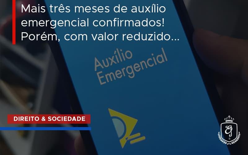 Auxilio Emergencial Confirmado Dra. Elaine Fernandes Blog - Escritório de Advocacia em Várzea Paulista - SP | Dra Elaine Fernandes