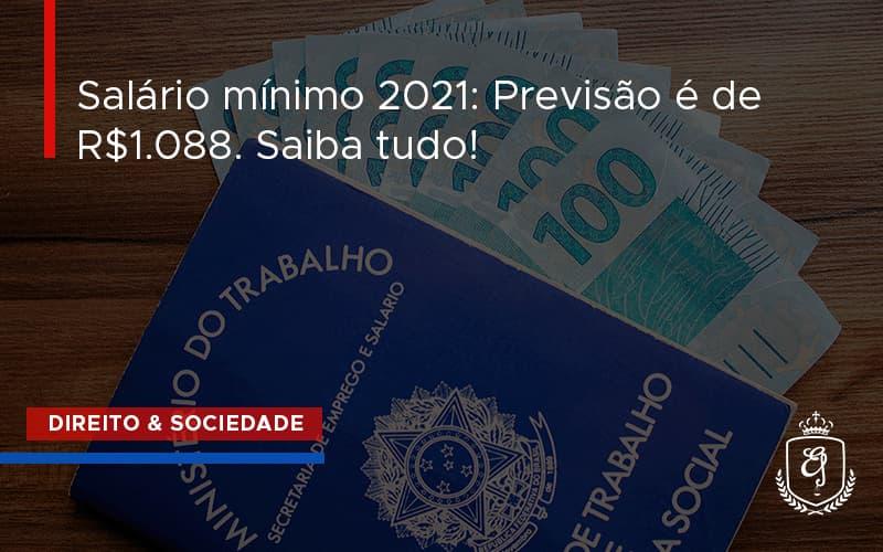 Salario Minimo 2021 Dra. Elaine Fernandes Blog - Escritório de Advocacia em Várzea Paulista - SP | Dra Elaine Fernandes