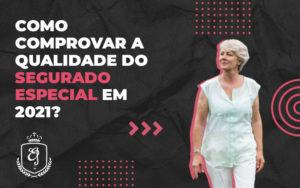 Como Comprovar A Qualidade Do Segurado Especial Em 2021 Dra. Elaine Fernandes Blog - Escritório de Advocacia em Várzea Paulista - SP | Dra Elaine Fernandes