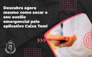 Descubra Agora Mesmo Como Sacar O Seu Auxílio Emergencial Pelo Aplicativo Caixa Tem! Elaine 2 - Escritório de Advocacia em Várzea Paulista - SP | Dra Elaine Fernandes