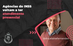 Agências Do Inss Voltam A Ter Atendimento Presencial Elaine 2 - Escritório de Advocacia em Várzea Paulista - SP | Dra Elaine Fernandes