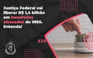 Justiça Federal Vai Liberar R$ 1,4 Bilhão Em Benefícios Atrasados Do Inss. Entenda! Elaine 2 (1) - Escritório de Advocacia em Várzea Paulista - SP   Dra Elaine Fernandes
